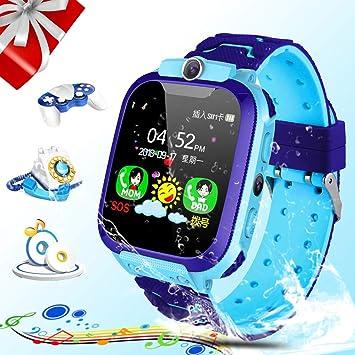 Zeekeer - Reloj Inteligente para niños, con Ranura para ...