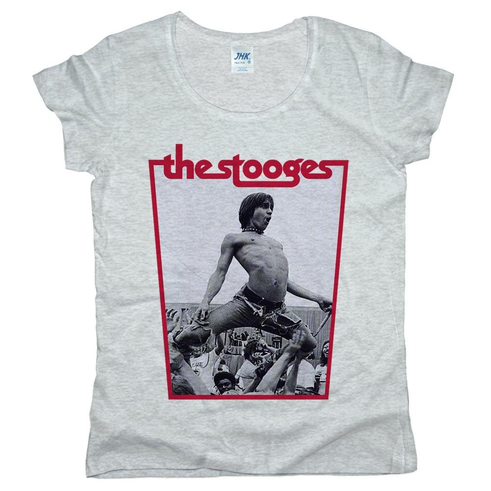 Printpro The Stooges Iggy Pop Jhk Palma T Shirt 2019