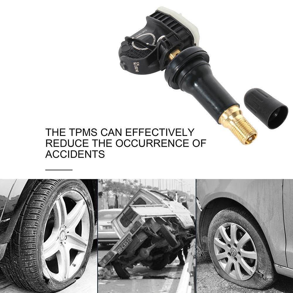 cciyu Fits for 2015-2018 Ford 2016-2018 Lincoln Original Equipment Programmed Tire Pressure Monitoring System Sensor TPMS 315 MHz F2GZ-1A189-A F2GT-1A180-AB