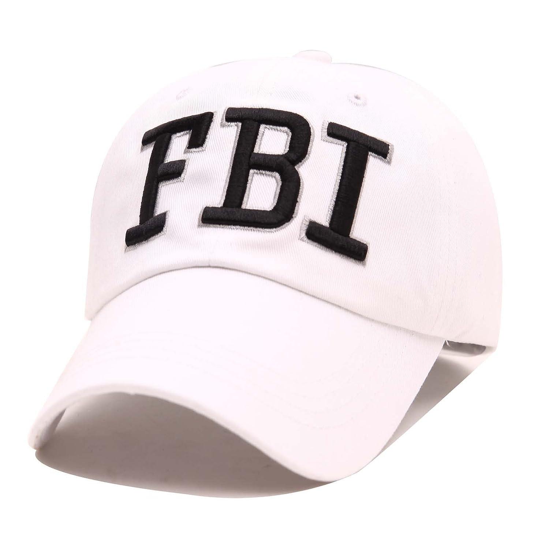 REINDEAR Unisex FBI Law Enforcement Adiustable Hat Baseball Cap fbiblk
