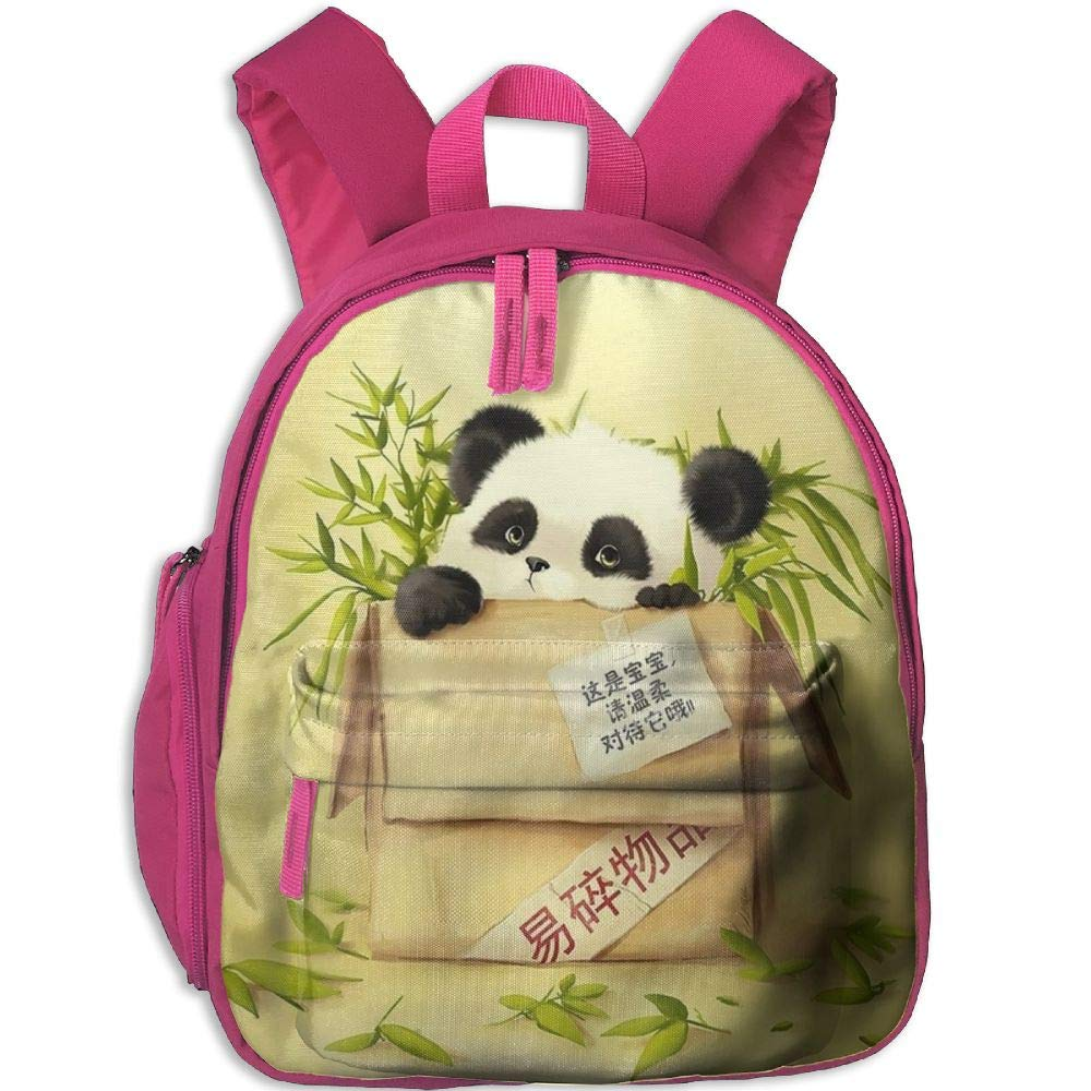 ZZATAA 面白いレイジーパンダ スクールブックバッグ 子供 旅行 学生用バックパック One Size ピンク gdr5sh78se-39300770-Pink-29 B07FZVQBSL ピンク One Size