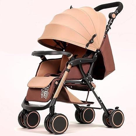 Carro plegable ligero Cochecito de bebé Cochecito de plataforma Carro de verano Sillas de carro Highland