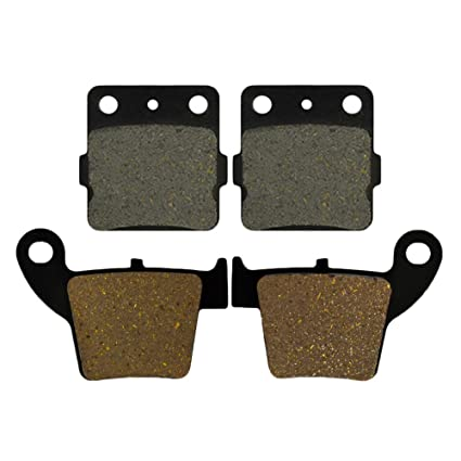 Semi-metallic AHL Brake Pads Set for Honda CBR954 RR 2002-2003