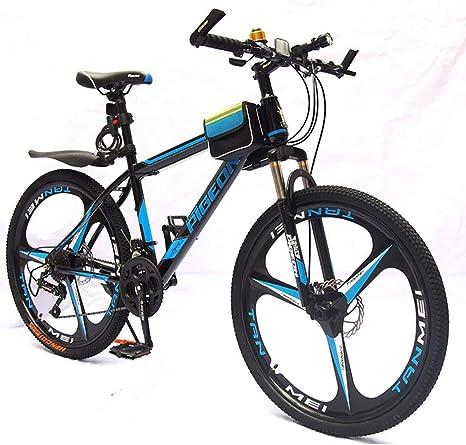 HECHEN Bicicleta de montaña - Doble Disco Freno Amortiguador ...