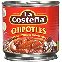 La Costena Chipotle Peppers in Adobo Sauce, 12 oz