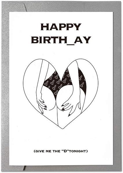 Ihopes Carte D Anniversaire Humoristique Inscription Happy Birthday Carte D Anniversaire Coquine Pour Lui Cadeau Humoristique Pour Petit Ami Mari Fiance Amazon Fr Fournitures De Bureau