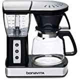 Bonavita 8-Cup One-Touch Coffee Maker Featuring Glass Carafe and Warming Plate, BV01002US