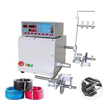 IDABAY Máquina automática de bobina para cable Ordenador CNC 321D automático Bobinadora Bobina de Alimentación enrollable