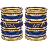 MUCH MORE Amazing Bangle Set with Designer Kada Partywear Jewellery for Women's