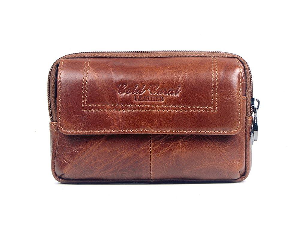 Amazon.com: Genda 2 Archer portafolios cartera de piel para ...
