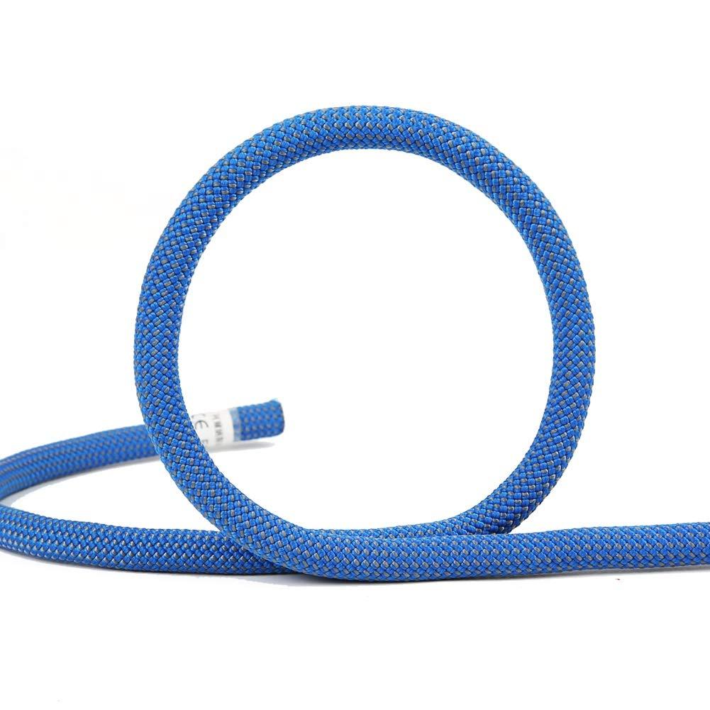 Diameter 10.5mm Escalade Corde Corde de sécurité de Corde de Haute résistance d'accessoires de randonnée extérieure, Corde à Linge de ménage 40m