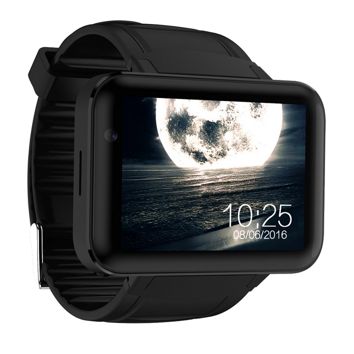 DM98 Android 3G Smart Watch Phone with 900mAh Battery - Black