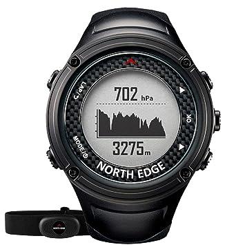 OOLIFENG Reloj Inteligente HR, Unisexo GPS- Reloj Deportivo, 11 H De Rendimiento De
