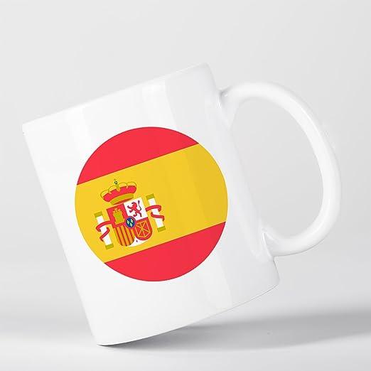 Spain Flag Bandera Española España Taza: Amazon.es: Hogar