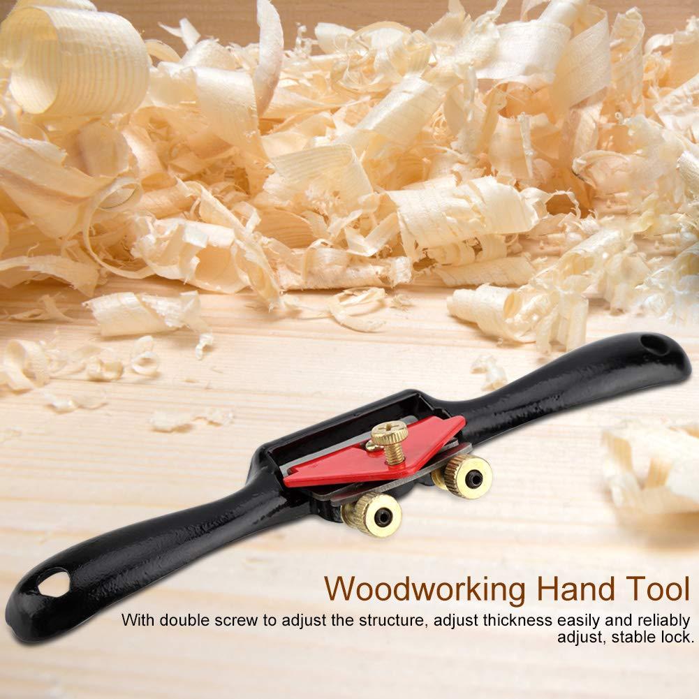 9// 215 mm Ajustable Manual de Borde Alisadora Spoke Shave Manual de Carpinter/ía Herramientas Manuales