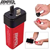Rampage Electric 9v Instant Cell Phone / Mobile Device Charger