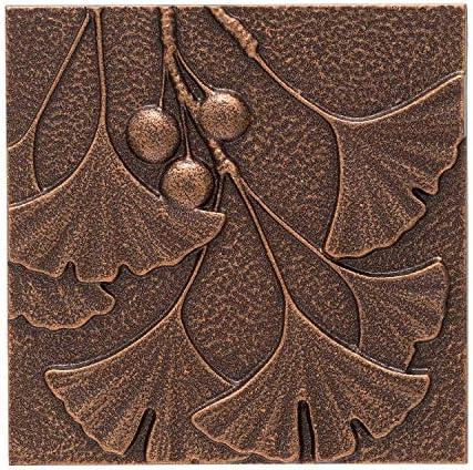 Whitehall Products Gingko Leaf Wall Decor