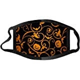 Face Balaclavas Unisex Mouth Cover Dustproof Windproof Anti-Spitting Protective Covering Washable Bandana Halloween Print Sca