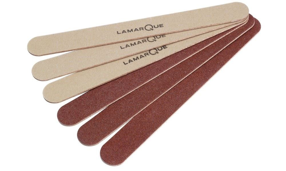 100 Lamarque Disposable foot file 18cm ROUGH DRY SKIN CALLUS DOUBLE SIDED