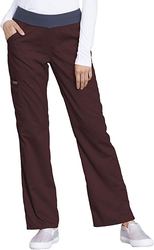 Women with Control Tall Pull-On Slim Leg Pants Pearl S NEW A310163