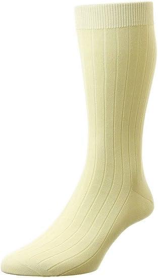 Mens UK Size Pantherella Pembrey Sea Island Cotton Socks