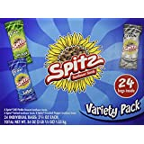 Spitz Sunflower Seeds Variety Pack 24-individual bags (2.25 oz each) of the following flavors: 8-Spitz Dill Pickle, 8-Spitz Salted, 8-Spitz Cracked Pepper