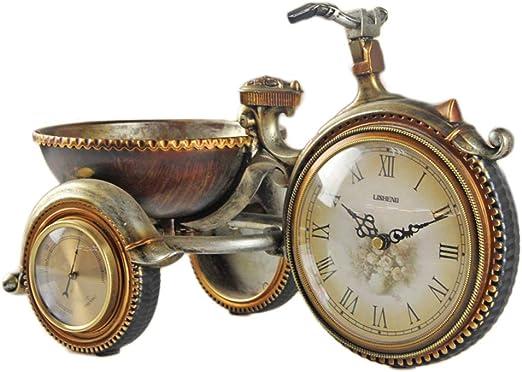 Retro Bicycle Bike Model Alarm Clock Home Bedroom Decor Novelty Xmas Gift TOP