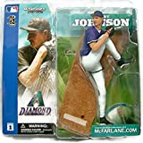 Series 1 Randy Johnson (Arizona Diamondbacks) Purple Jersey