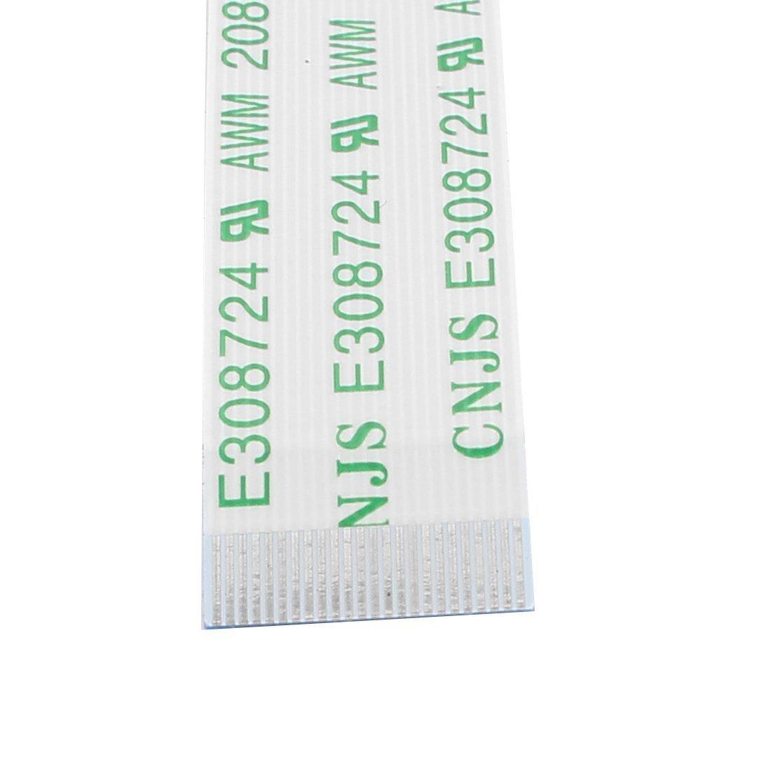Amazon.com: eDealMax LCD portátil FPC FFC Plana por Cable, 0,5 mm de espaciado, 20 terminales, 200 mm, 5 Piezas: Electronics