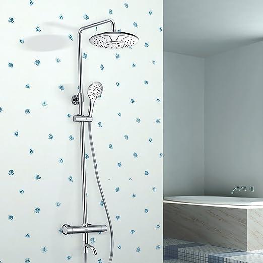 ducha de lluvia stylename2 Columna de ducha termostatica conjunto de ducha termostatico acero inoxidable con duchas de mano