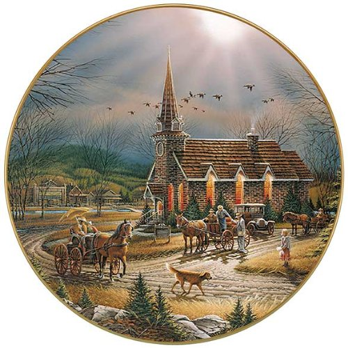God Shed His Grace on Thee Collector Plate by Terry - Grace Collector Plate