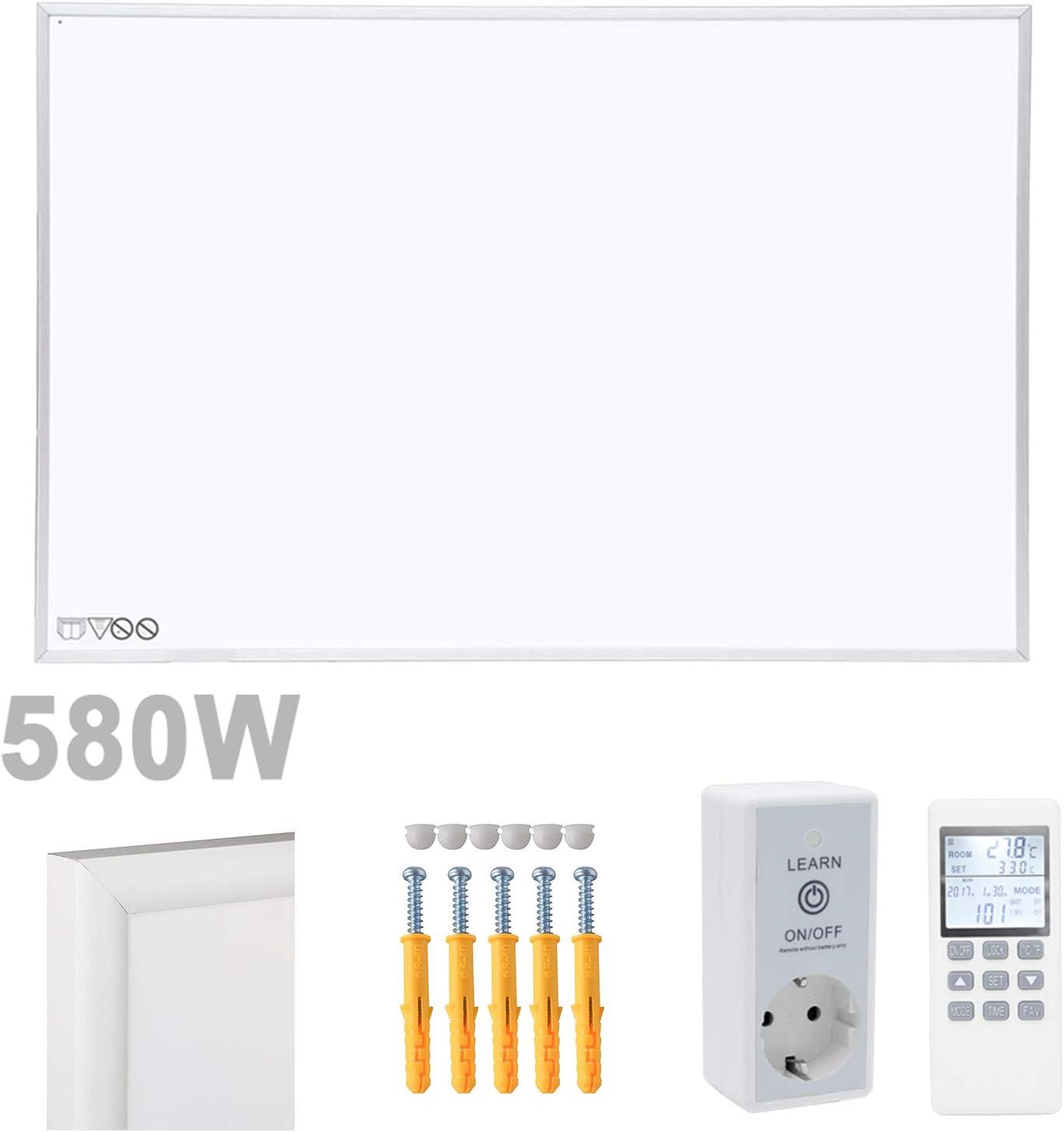 vingo 1100W Calefactor El/éctrico erguido Panel Calentador de Pared Infrarrojo con Protecci/ón contra sobrecalentamiento