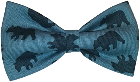 Small Pet Bears Sunflower Freckles Bow Tie