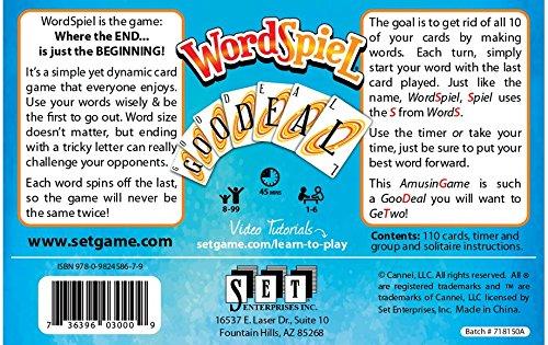 SET Enterprises WordSpiel Card Game by SET Enterprises (Image #1)