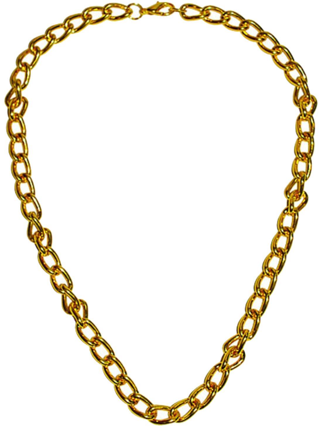 Goldkette gangster  Karnevalsbud - Karneval Kostüm Accessoire Goldkette Gangster, Gold ...
