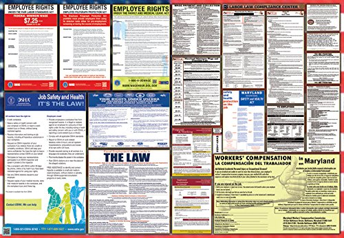 Maryland / Federal Combination Labor Law Posters