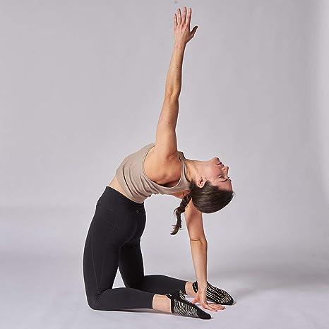 Gran Soles Mujer Ombre teñido calcetines de agarre para Yoga, Pilates, y Barre