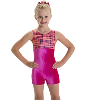 d14bf3a35f51 Amazon.com   Motionwear Gymnastic Poppin  Pink Print with Bouncing ...
