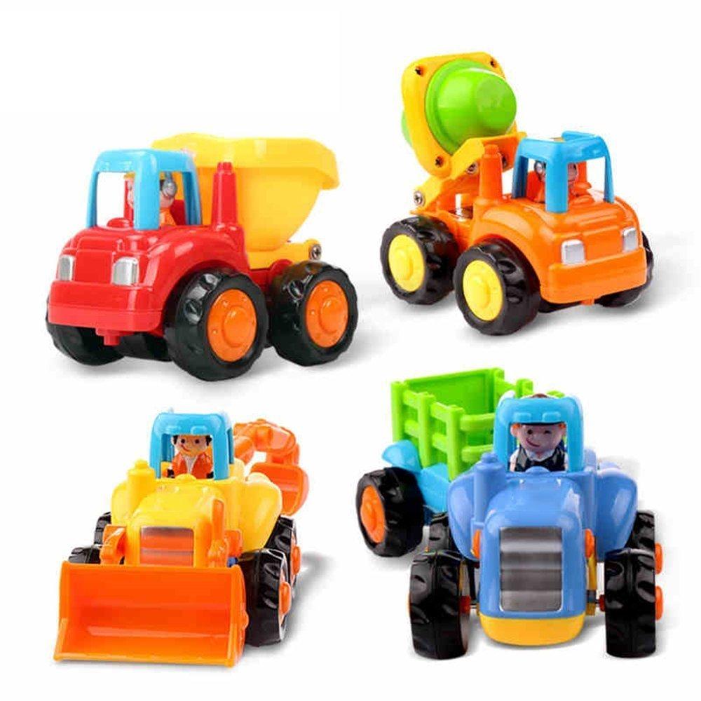 TraderYu Pulse y Go Fricción Conjuntos de coches Juguetes Educación Temprana Año