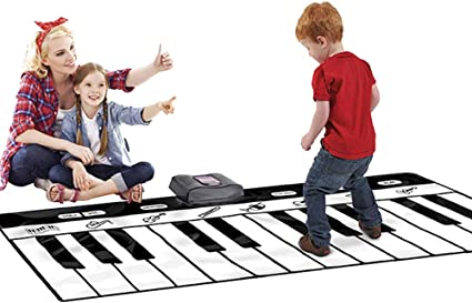 Almohadilla de piano para niños, 8 almohadillas de sonido ...
