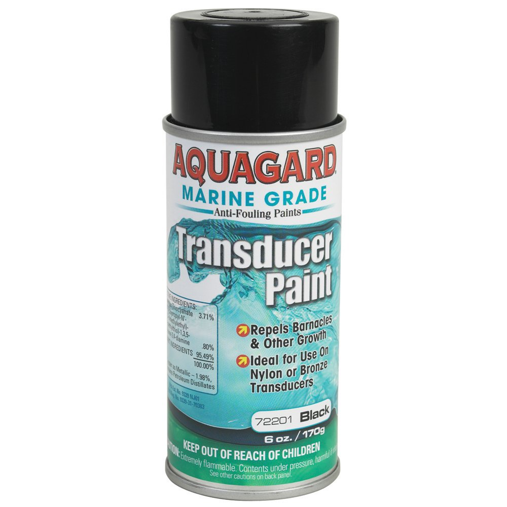 Aquagard Marine Grade Transducer Anti-Fouling Paint - Black