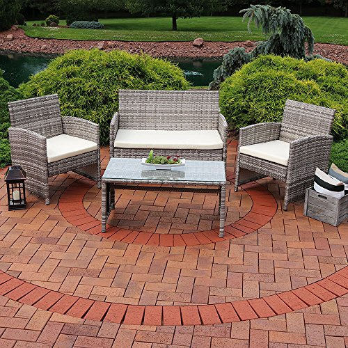 Sunnydaze 4 Piece Outdoor Furniture Cushions Basic Facts