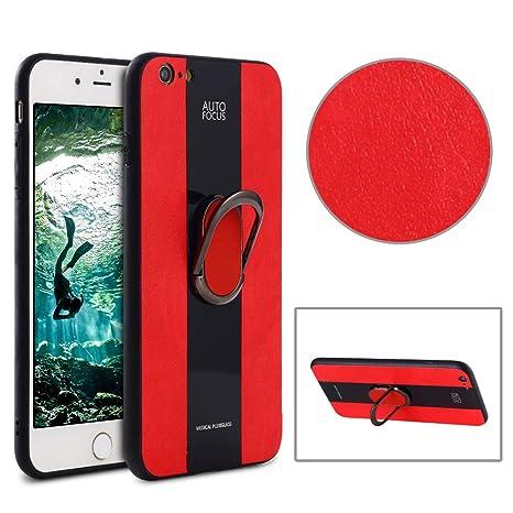 89d09b97ee4 MOEVN Funda iPhone 6S Plus Piel + Silicona Funda iPhone 6 Plus / 6S Plus  Fit Case ...