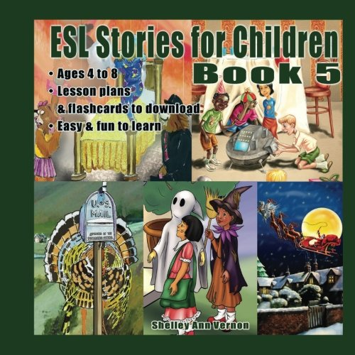 Fun Halloween Lesson Plans Preschool (ESL Stories for Children: Book)