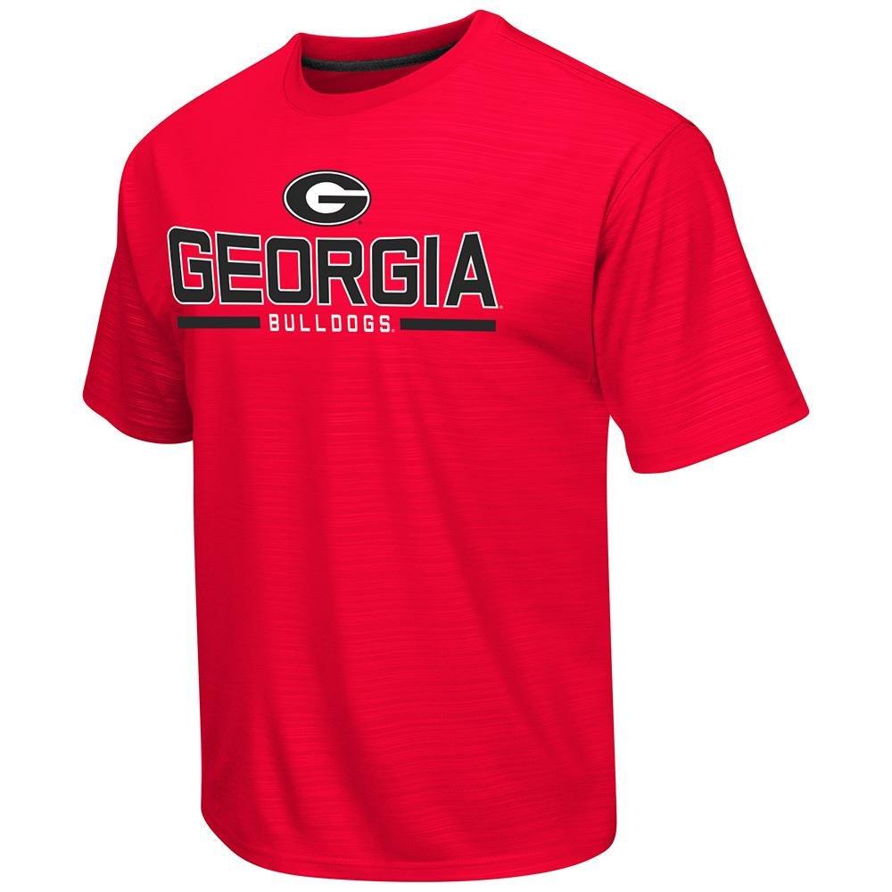 メンズNCAA Georgia Bulldogs半袖Tシャツチームカラー Medium  B06ZZS7W4V
