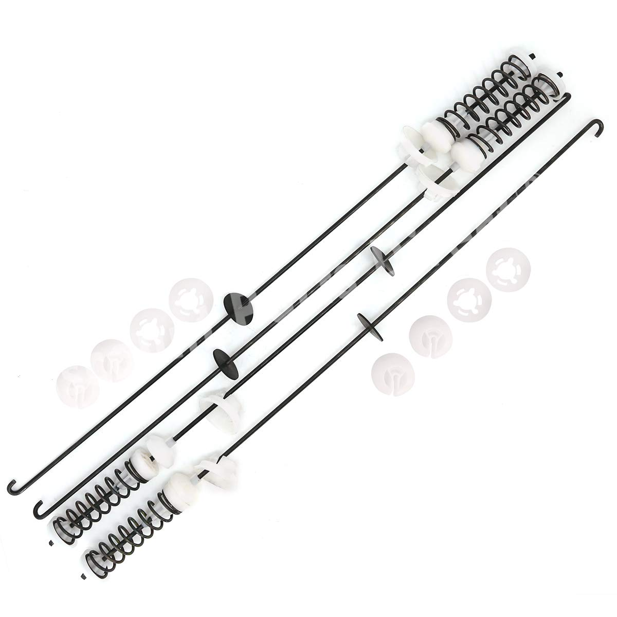 W10189077 Washing Machine Suspension Rods Kit for Whirlpool Maytag Kenmore Washer, Replaces W10820048, PS11723157, 280144, 8564009, 8566146,