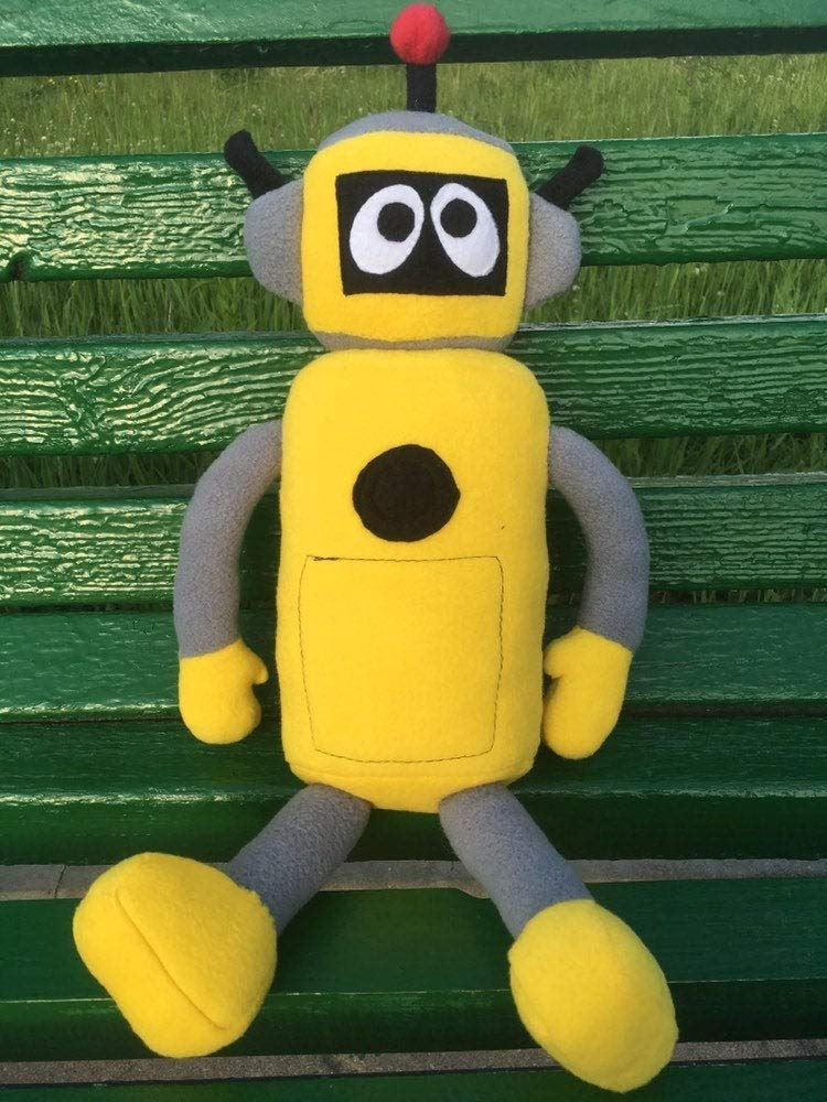 Plex robot plush