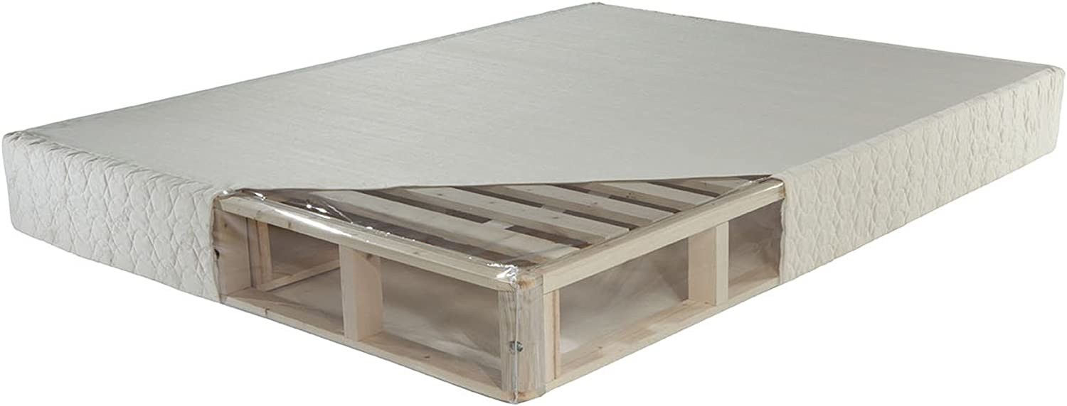 PlushBeds Mattress Foundation Maximum Support Box Spring Replacement Orthopedic, Full