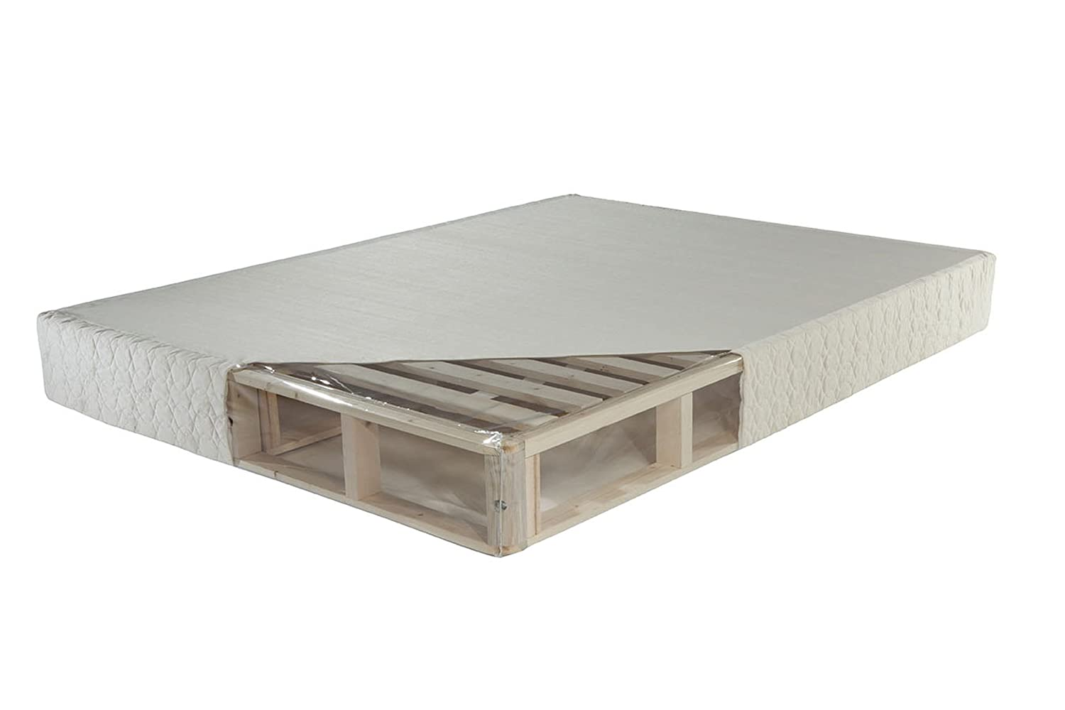 PlushBeds Low Profile Orthopedic Foundation - Twin