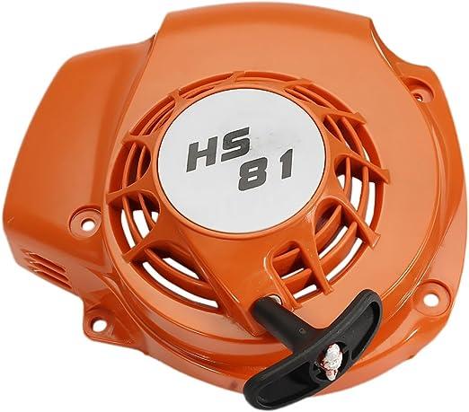 Arrancador de Tirón Retroceso Desbrozadora Cortasetos para Stihl Serie Hs81 Hs86 R T: Amazon.es: Jardín